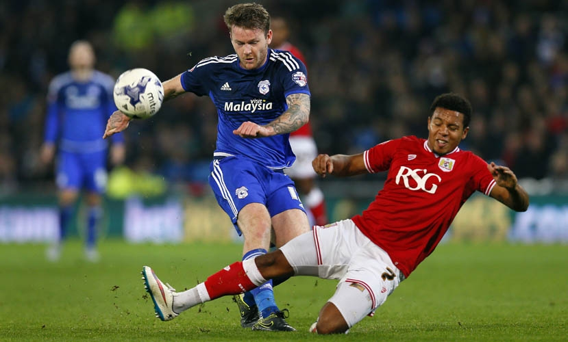 Aron Gunnarsson v Korey Smith image